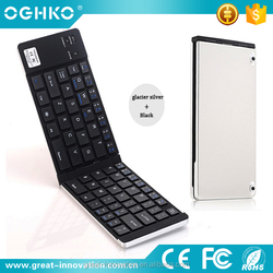 Collapsible Mini wireless keyboard for ipad iphone IOS Android tablet pc