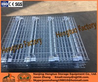 Heavy Duty PVC coated Steel Wire Mesh Decking for Pallet Storage Racking