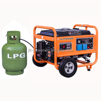 LPG Nature Biogas Electric Gas Generator Price For Sale Small Methane LPG Nature Natural Biogas Gas Generator