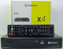 Stocks for 2016 newest Power vu Alphabox X4 HD DVB-S2 satellite receiver