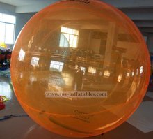 Top quality professional giant inflatable water bubble ball