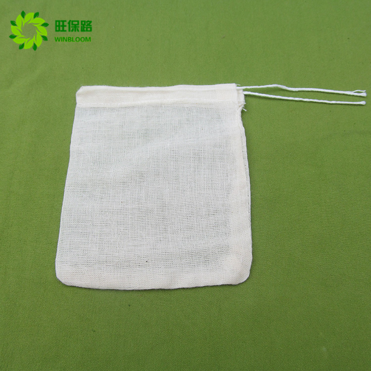 Wholesale Or Custom Made Nylon Pyramid Tea Bag For Wheat Tea