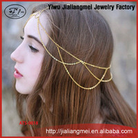 AliExpress explosion models retro tassel simple hair ornaments head chain jewelry