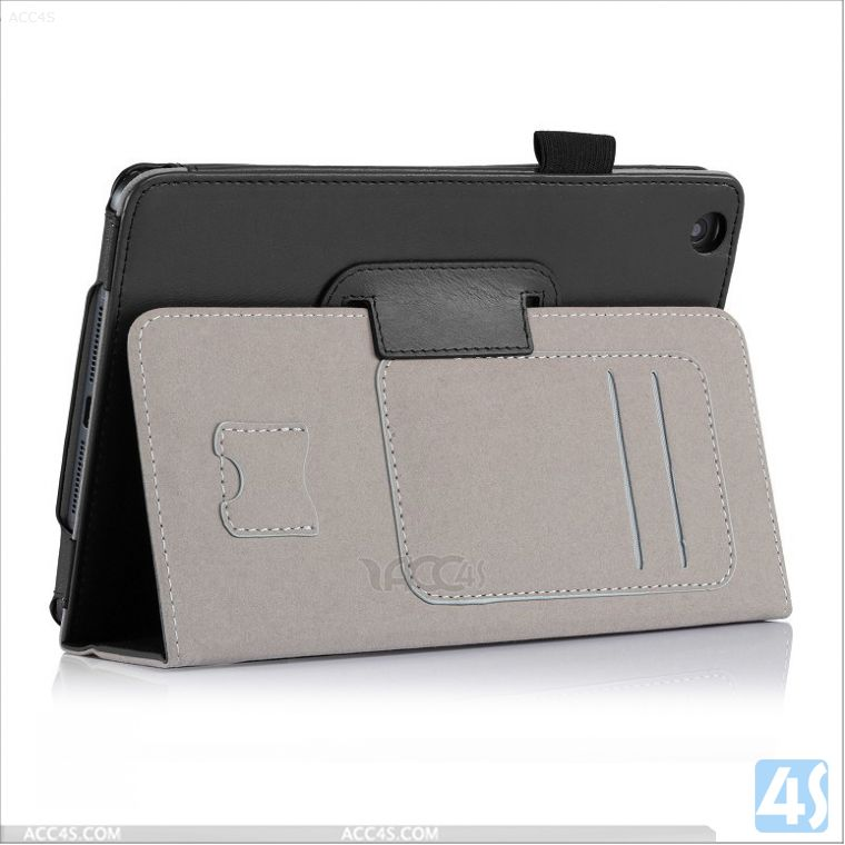 Book Stylish Case for iPad mini 2, Premium PU leather case for iPad Mini 2, Wholesale low price P-IPDMINIiiCASE002