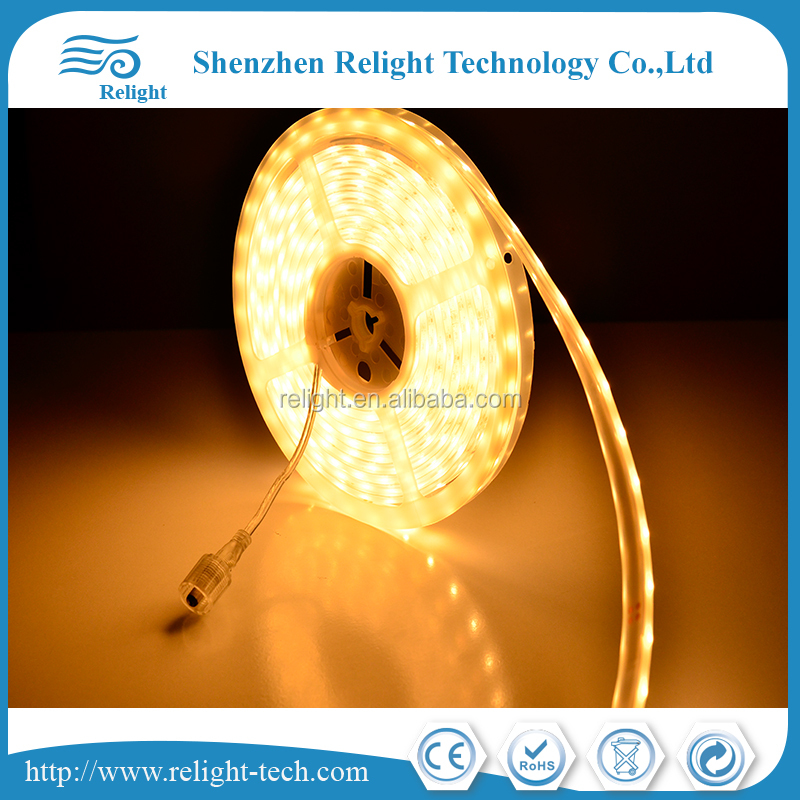 SMD LED 5050 Strips 12V 14.4W IP68 water proof dimmable 60pcs LED per meter