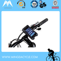 bicycle handlebar bag for mobile phone