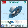 Idler Carrir 2014 hot sale long life and low eccentricity TK310-165 Mining Industry Pressed Belt Conveyor Roller Bearing Endcap