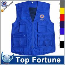Customized Wholesale men warmer sleeveless work waistcoat