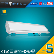 Suspended Ceiling Microwave Motion Sensor 1 to 10V Dimmable 80W LED Linear High Bay Light 130LM per Wattage with 5 Years Warrant