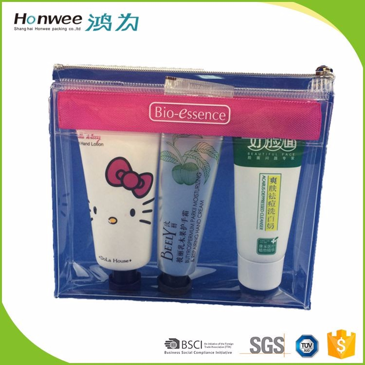 Factory wholesale clear toiletry bag,Fashional Eva Gift Bag