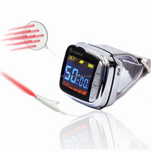 Laser device watch reduce three-hypers modern treatment and apparatus