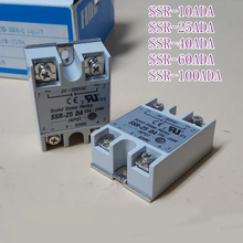 solid state relay SSR-25DA 25A actually 3-32V DC TO 24-380V AC SSR 25DA relay solid state Hot Selling