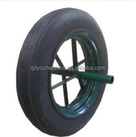 High quality14' inch solid rubber tire tyre , cart wheel solid rubber tires