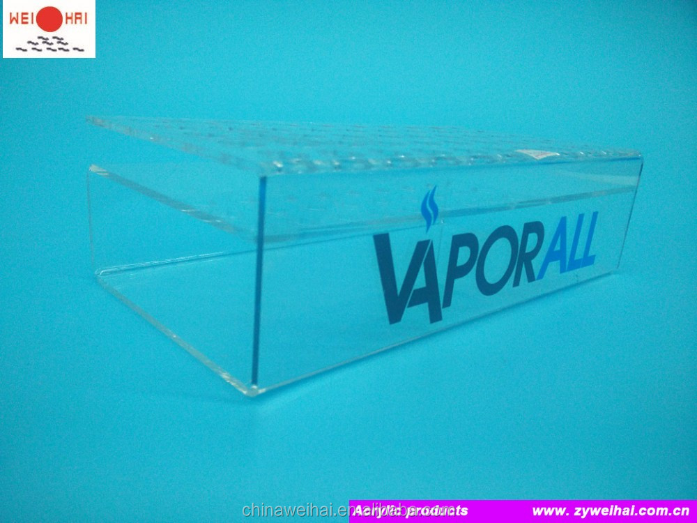 Acrylic Vapor E Cigarette Display Stand
