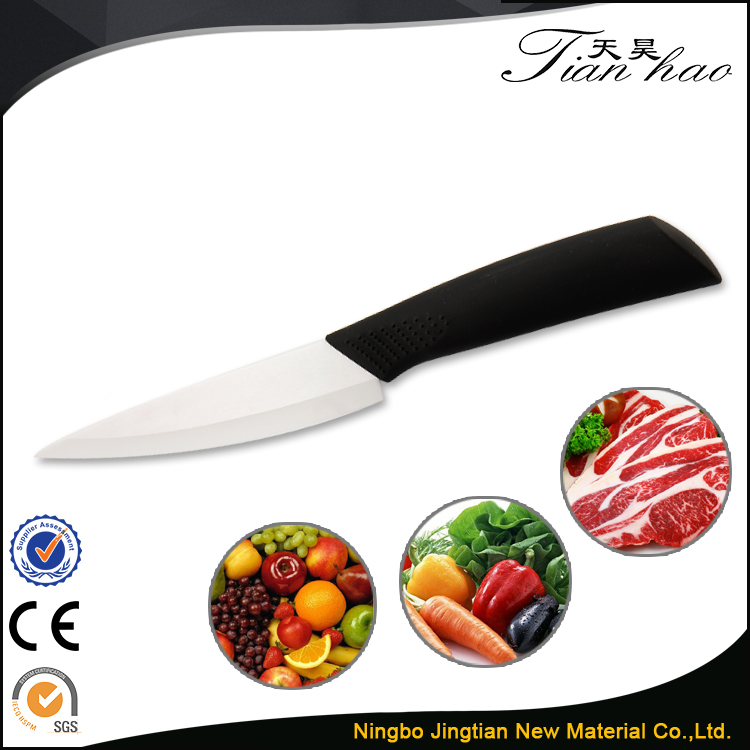 4 Inch Best Price ABS Handle Ceramic Utility Kitchen Knife