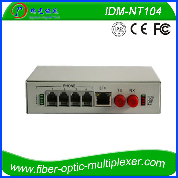 wireless transmission system Optix NT104 China supplier with 1Eth 4 FXO FXS V.35 RS232 POTS over dual or single fiber