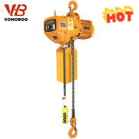 High quality two lifting speeds electric chain hoist winch motor