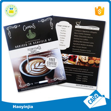 High Quality Glossy Shampoo or Restaurant Advertising Laminate Poster