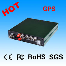 Factory direct 4 ch mobile DVR with GPS route tracking