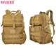 Hot quality multifunction cordura military grade back pack waterproof outdoor hiking backpack in sand color