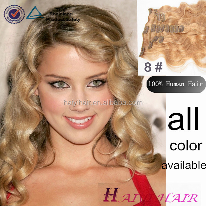 Wholesale Alibaba Remy Virgin Hair Dark Brown Clip On Hair Extensions For Black Women