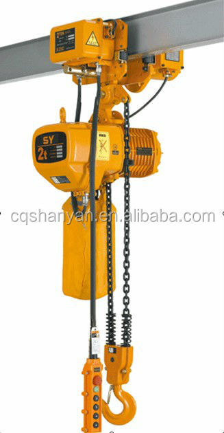 1,3,5,10,15,20,25,30,35 Ton SY-A Construction Hoist Usage and New Condition electric chain hoist