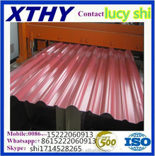 ASTM JIS EN G550 Hot Dipped Galvalume / Zinc-alume / Aluzinc color Coated Steel Corrugated cheap Matel Roof