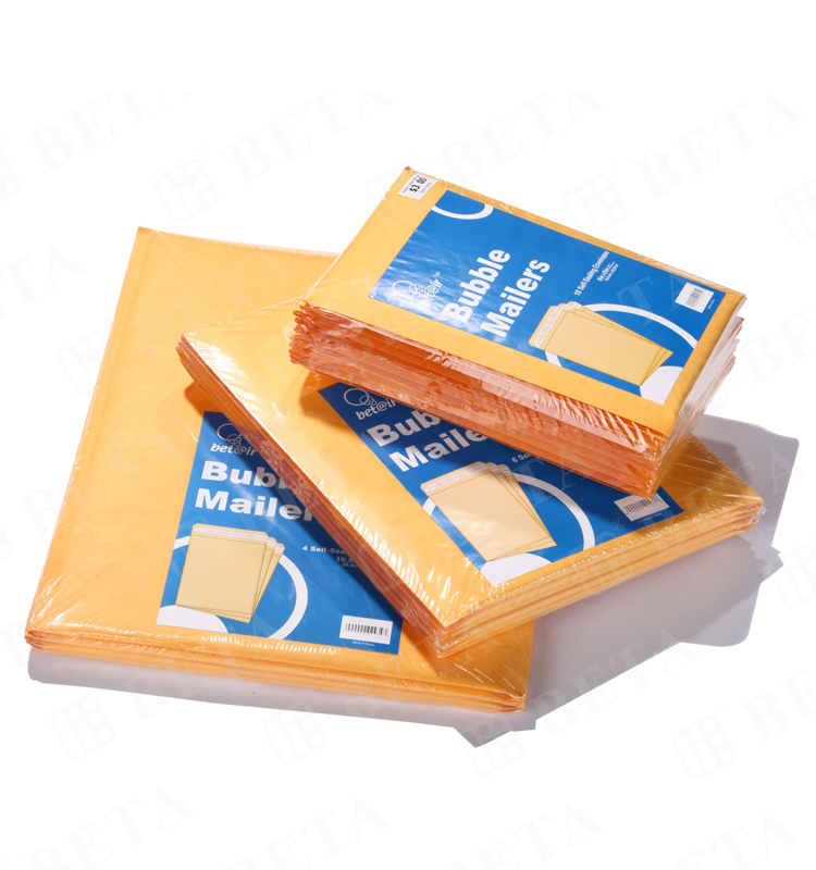 Recycled Kraft Bubble Mailers 6x10 Cushion Padded Envelopes