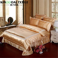 Luxury Chinese 100% Natrual 25mm Silk fitted quilted bedspreads
