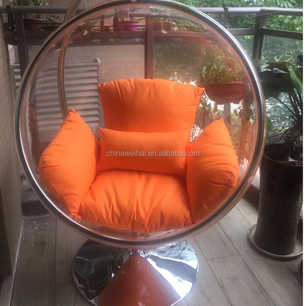 cheap clear acrylic hanging bubble chair