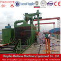 Hachieve brand roller shot blasting machine for steel plate cleaning