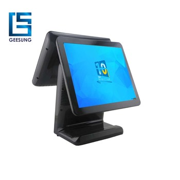 15 Inch Touch Screen Dual Screen Pos System for Restaurant-AIO1519D