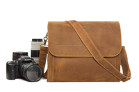 DSLR Leather Camera Bag for samsung nx300, canon eos
