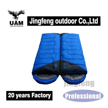 outdoor sports camping sleeping bag, hiking 3 seasons sleeping bag, new arrival envelope sleeping bag
