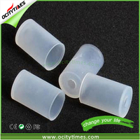 e-cig rubber mouthpiece tip Ecigs Test Tips Disposable Drip Tip Silicone Cover