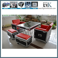 flight case furniture /flight case for speakers/tablet amplifier speaker case