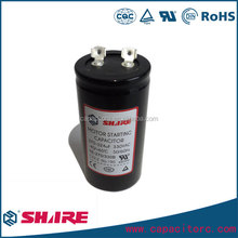 CD60 Capacitor motor starting capacitor 125 vac volts with cable terminals 500 mfd