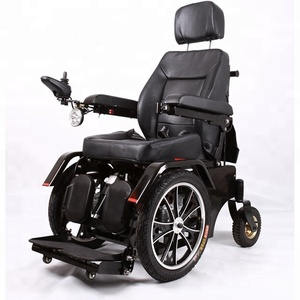 Power standing wheelchair standing up function