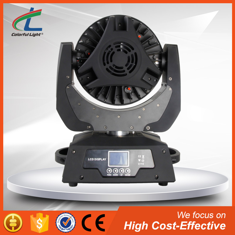 CL 36 multi-chip 10w rgbw quad in 1 led moving head light with low power consumption