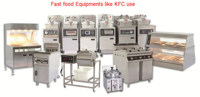Broasting chicken machine / broaster pressure fryer