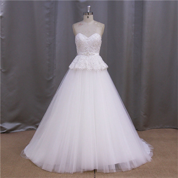personal tailor's floor-length train name brand wedding dresses