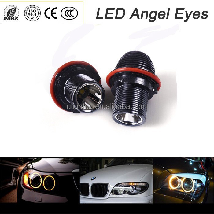 2x10w angel eyes lighting DC12V angel eyes for car 6000k-6500k E39 angel eye led