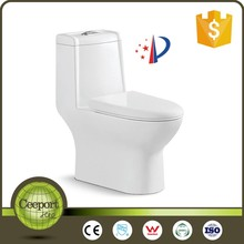 Sanitary ware bathroom tornado flush one piece toilet