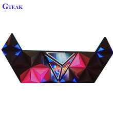 Indoor P5 led dj table triangle booth