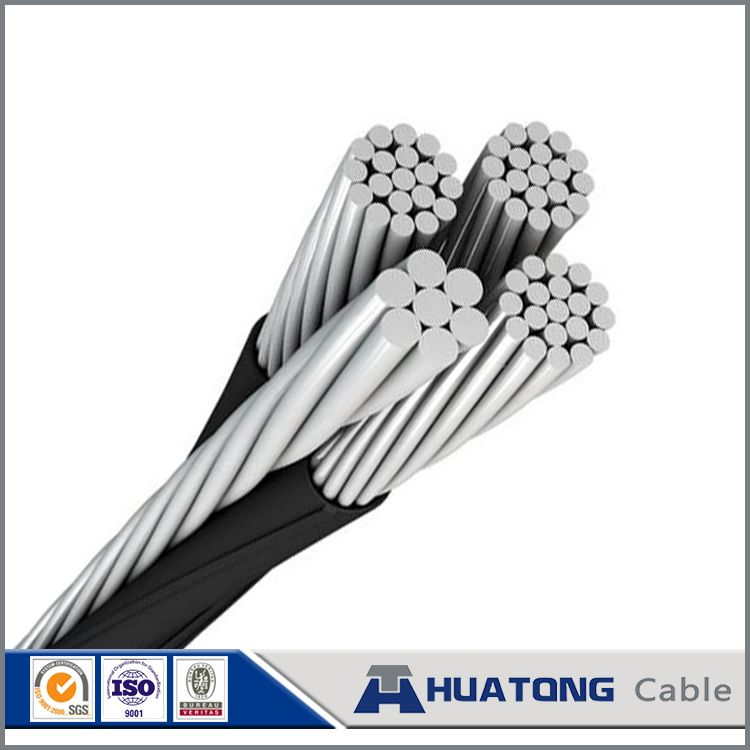 Electrical Cable Specifications XLPE 70mm2 aluminium conductors 10kv ABC Aerial Bundle Cable / ABC Wire