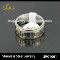stainless steel latest gold finger ring designs