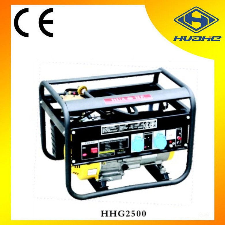 2015 china supply 2kw natural gas generator prices,small portable 3600rpm 168f engine 2000w manual generator CE approved