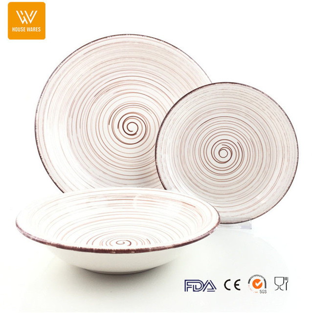 2017 new product western style dinnerware sets/classic striped crockery tableware  sc 1 th 225 & 2017 crockery tableware set_Yuanwenjun.com