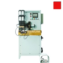 Inserting aluminum and copper tube butt welding/resistance welding machine