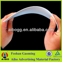 1mm pvc foam board hard plastic sheet